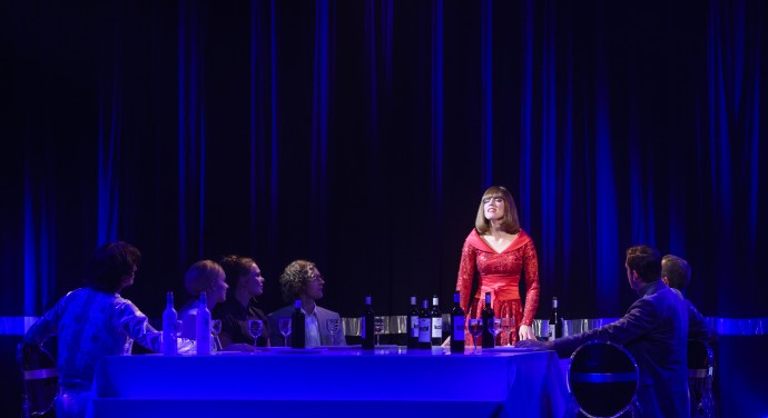 Foto 4 Liesbeth List de Musical bij Theater de Bussel
